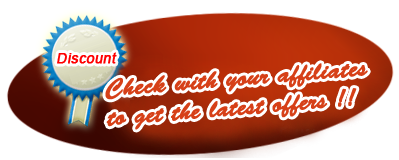 Check with affiliates to get latest offers